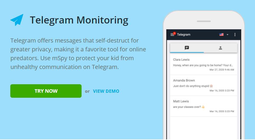 Telegram tracking for Samsung Galaxy S III